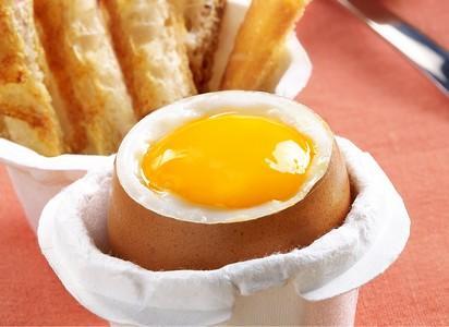 L'œuf à la coque - Pratique avec sa prédécoupe laser !