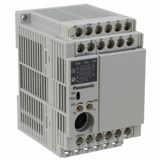CONTROL LOG 8 IN 8 OUT 100-240V - Panasonic Industrial Automation Sales AFPX-C14R