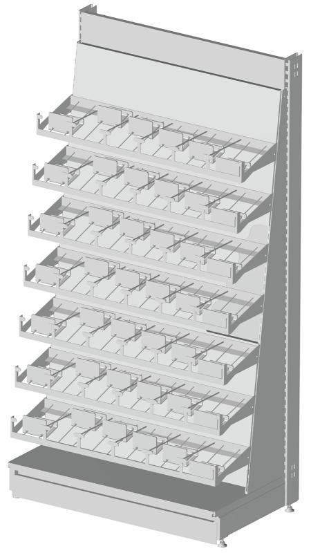 Modular shop rack systems & instore interior shelving design - DVD presentation