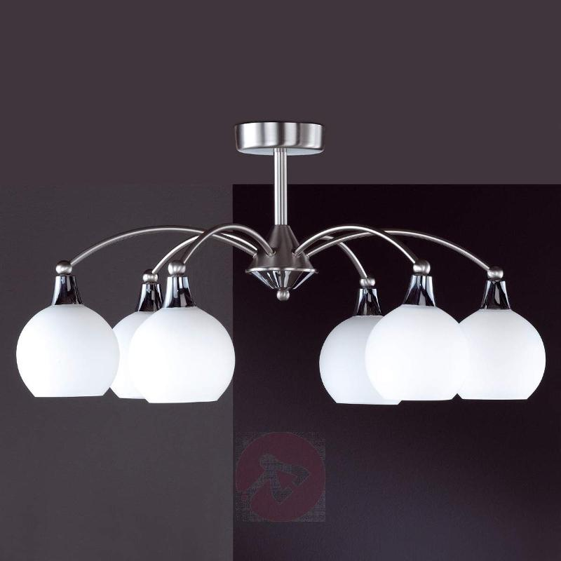 Weimar Ceiling Light Stylish Nickel - Ceiling Lights