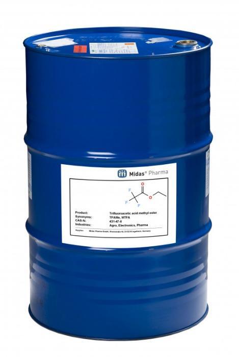 Éster metílico del ácido trifluoroacético - 431-47-0; TFAMe, MTFA; agro, electrónica, química fina, perfumería, farma, vet