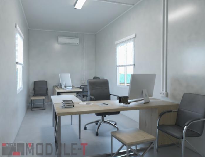 Modular Office Container - MODULAR CONTAINER