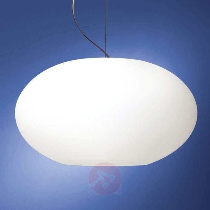 Glass pendant light AIH 38 cm - Pendant Lighting