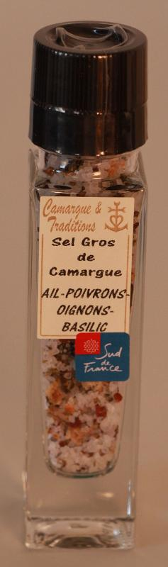 MOULIN RECHARGEABLE - SEL GROS DE CAMARGUE - AIL... - Epicerie salée