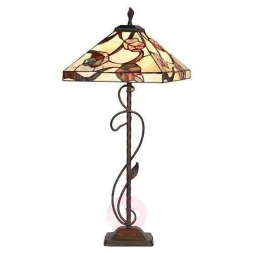 Appolonia floor lamp, Tiffany-style - Floor Lamps