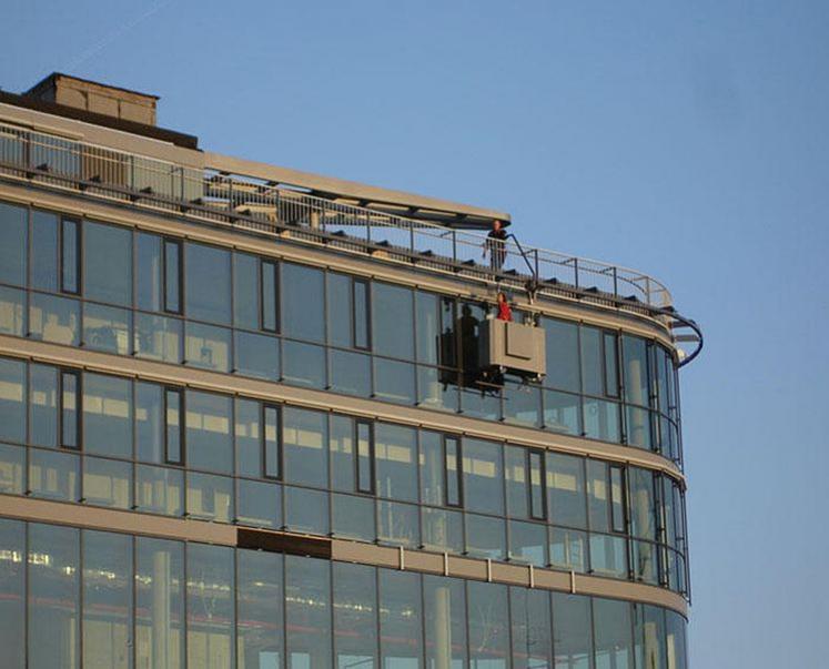 GEDA Monorails - GEDA Monorails - Fassadenbefahranlagen