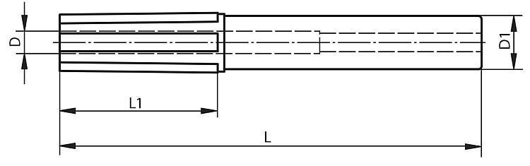 Cône de nettoyage pour cône morse (MK) - Rubans de précision Etiquettes et pochettes magnétiques Filets de...