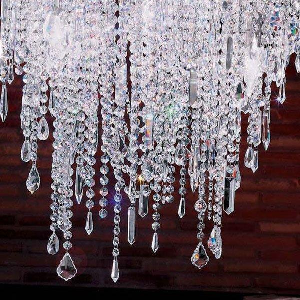 Lustre scintillant CASCADE - Suspensions en cristal