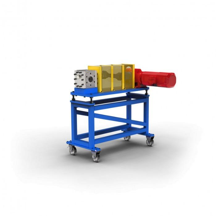 Bomba para material fundido - EXTRU III - Bomba de fusión -- Transporte de baja pulsación de los fundidos en la extrusión