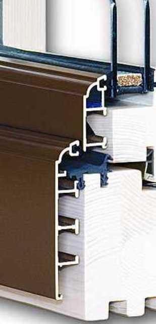 Fenster Holz-Alu  - Soft-Line | Retro | Linear