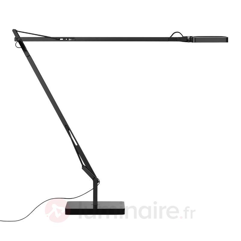 Lampe de bureau LED Kelvin Edge noire - Lampes à poser designs