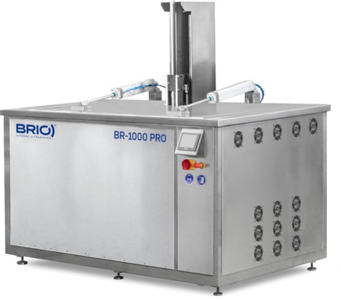 BR-1000 PRO - Máquina de limpieza por ultrasonidos automática de 1000 L