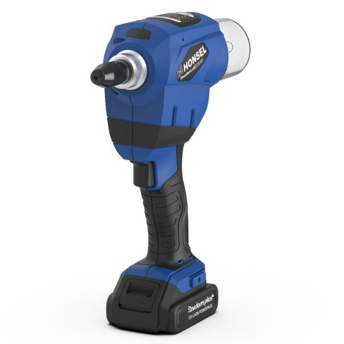 Honsel Rivdom eBZ ZERO - Outils de pose sur batterie pour rivets aveugles aveugles jusqu'à 4,0 mm