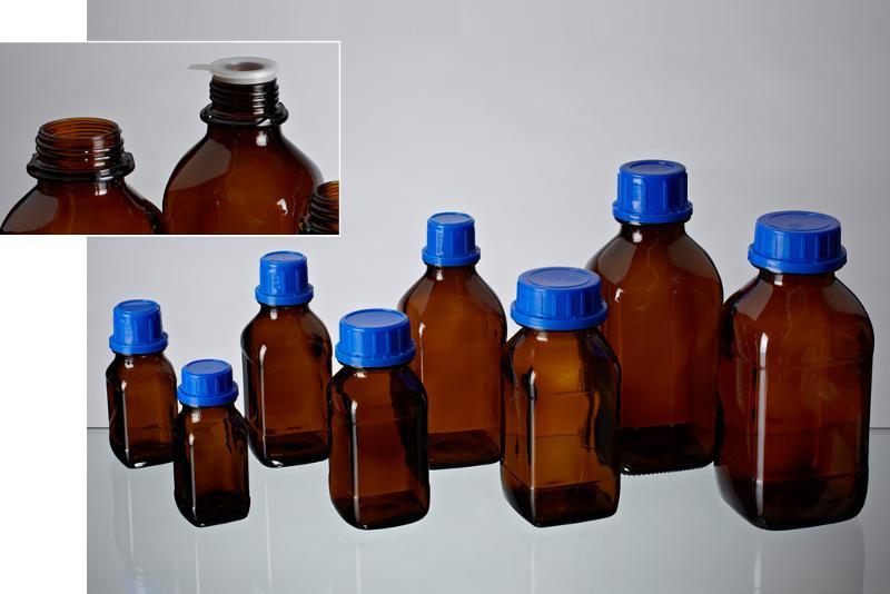 Square bottles - Glass bottles