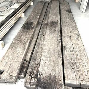 Fond wagon - Reclaimed oak wagon