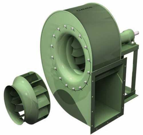 Gfc - Ventilateur Basse Pression Type Gfc - Transmission Poulie Courroie - null