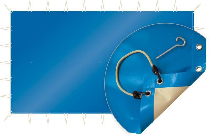 Couverture de sécurité skin cold pour piscine rectangulaire - skincold7.7x4.2