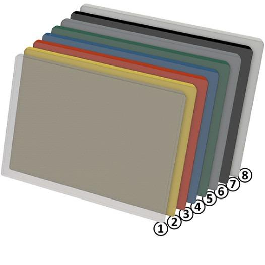 KANBAN LABEL HOLDERS AND ENVELOPES; Clip to hold - Strong and durable envelope for  SLC boxes, Euro containers, Kanban boards etc