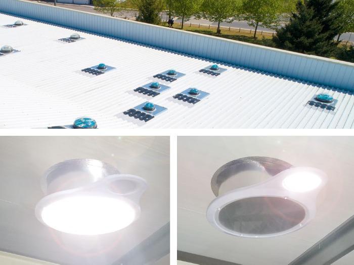 TUBO SOLAR  URANUS Sun Tunnel - Chatron - Solar Light Tube - TUBO SOLAR  URANUS Sun Tunnel - Chatron - Solar Light Tube