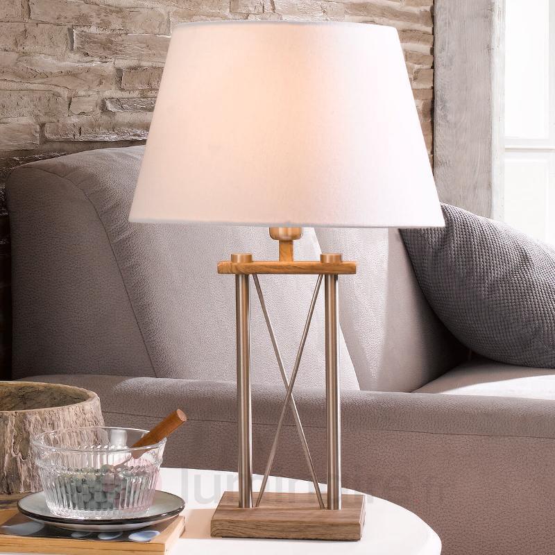 Belle lampe à poser X - Lampes à poser en tissu