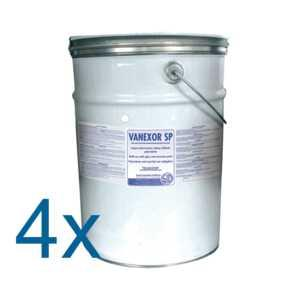 VANEXOR SP BLANC PUR 4x5 kg RAL 9010 SP - Laque anticorrosion satinée brillante polyvalente