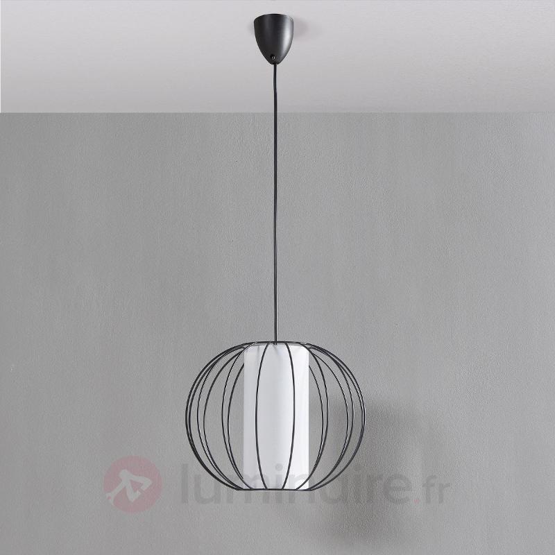 Jinan - suspension en métal et en tissu - Toutes les suspensions