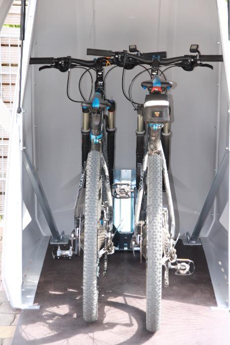 bikeBOX24 STandard - Multi-Funktionsd-Garage in der Standard-Version