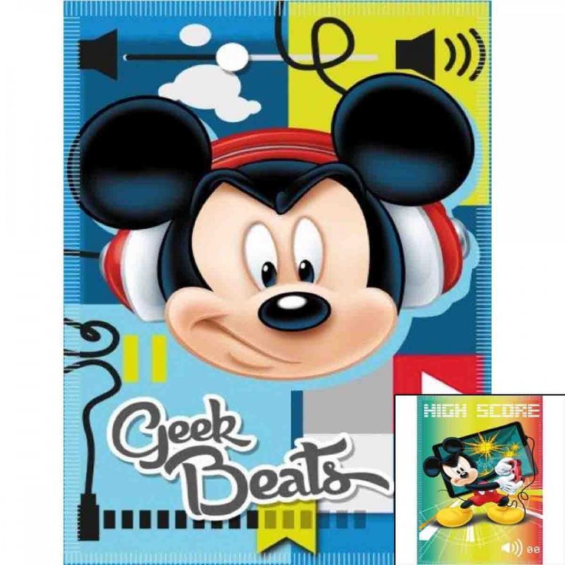 10x Plaids Mickey 140x100 - Linge de maison