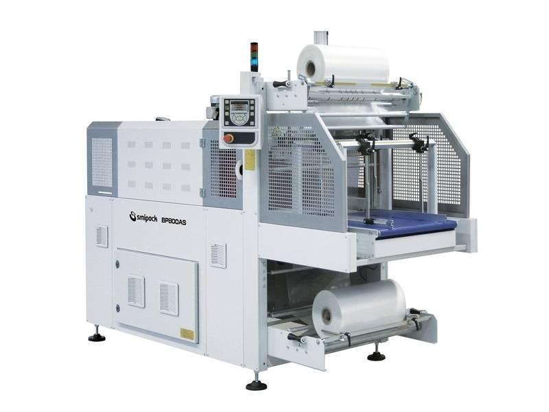 Automatische bundelmachine Smipack, Type BP 800AS/802AS, met krimptunnel - Bundelmachines