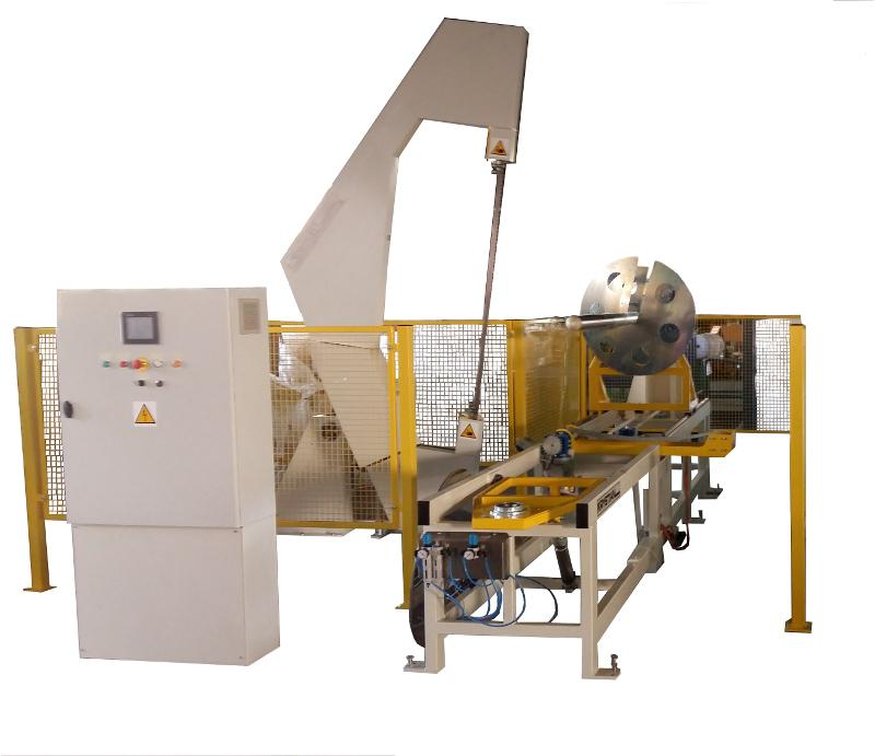 Band saw for cutting polyethylene foam and bubble wrap -
