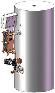 Préparateur semi-instantané  - série EXPRESSO INOX