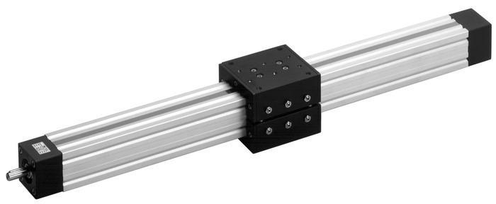 Unidades lineales de husillo quad® - Eje lineal de perfil