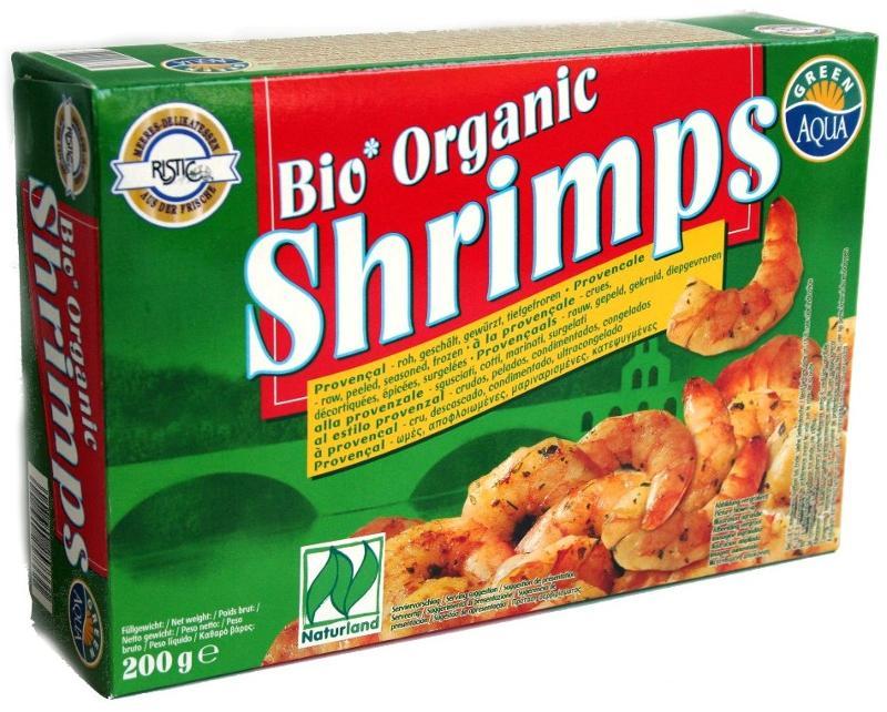 Crevettes à la provençale - Biologiques et surgelées