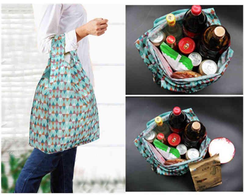 Thick nylon reusable shopping bag