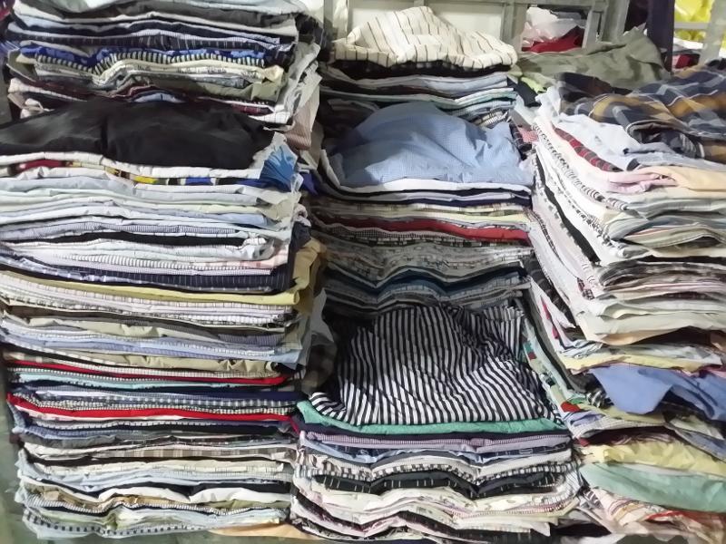 Chemises hommes - Export