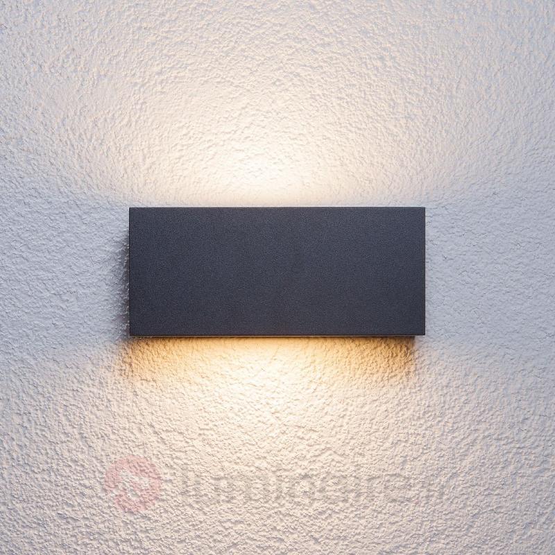 Applique d'extérieur Bente couleur graphite - Toutes les appliques d'extérieur