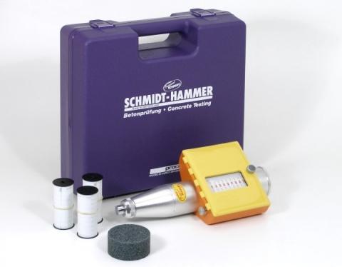 """Betonprüfhammer """"Original"""" Modell NR - Artikel-ID: B14011"""