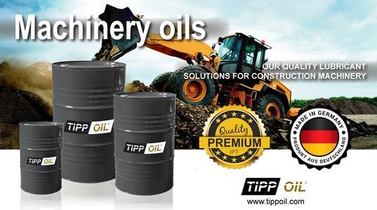TIPP OIL - Baumaschinenöle -