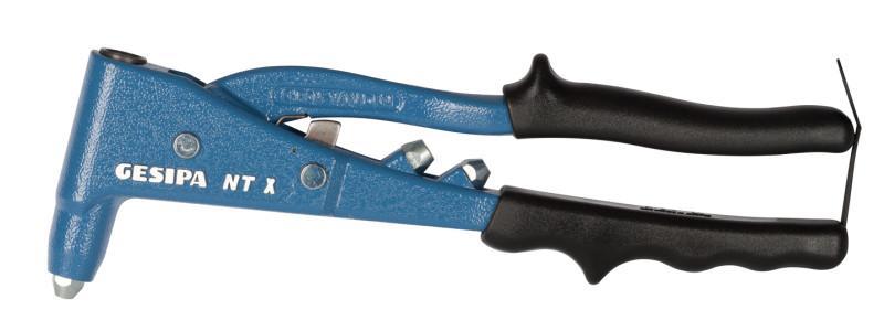 NTX-F (Hand-Blindniet-Setzgerät) - Nietzange mit Zwischenhebel-System für reduzierten Kraftaufwand