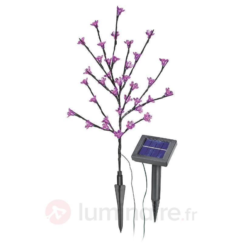 Bouquet solaire lumineux LED - Lampes solaires décoratives