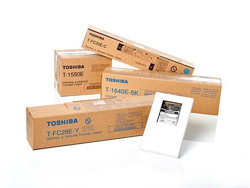Original Toshiba supplies and spare parts
