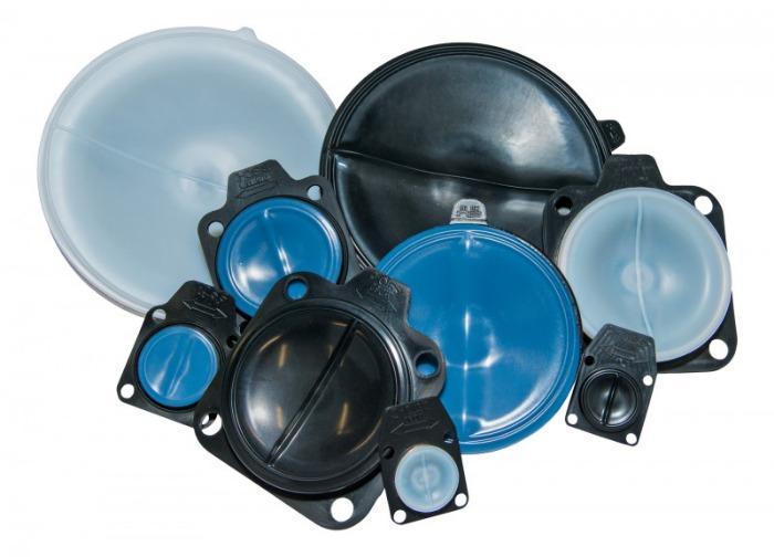 SISTO-C membrane TFM/EPDM 2-pièces - Membrane TFM/EPDM 2-pièces, température 160°C maxi, conforme exigences FDA