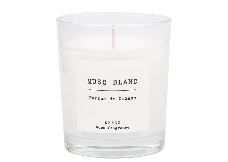 BOUGIE PARFUMÉE - MUSC BLANC - Collection Vintage 100% Végétale
