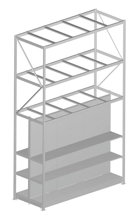 Modular shop rack systems & instore interior shelving design - Rack