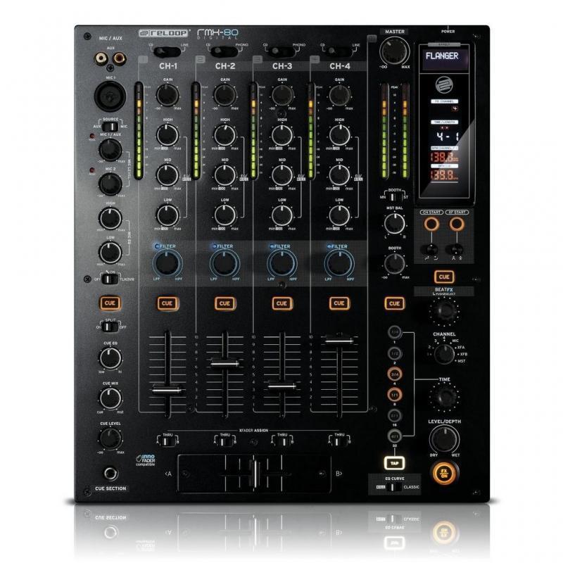 DJ-Mixer - Reloop RMX-80 Digital