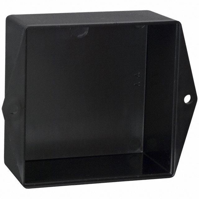 """BOX ABS BLACK 3""""L X 3""""W - Bud Industries PB-1576-TF"""
