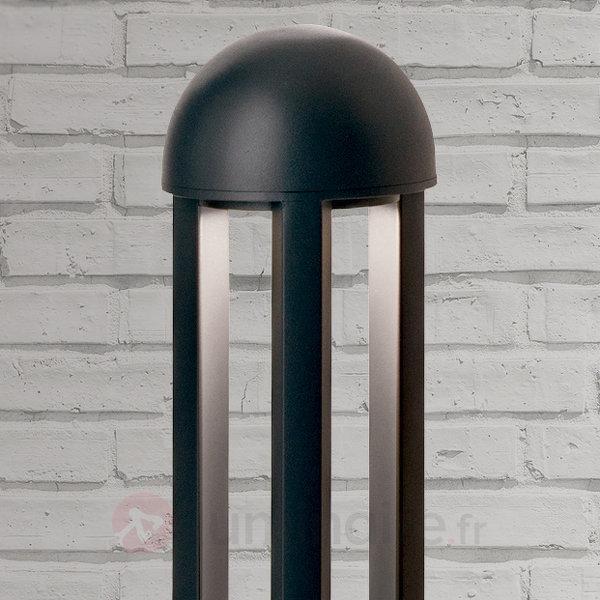 Borne lumineuse LED Asha, éclairage indirect, rond - Bornes lumineuses LED