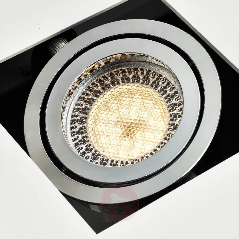 4-bulb long white LED ceiling light Vince - Ceiling Lights