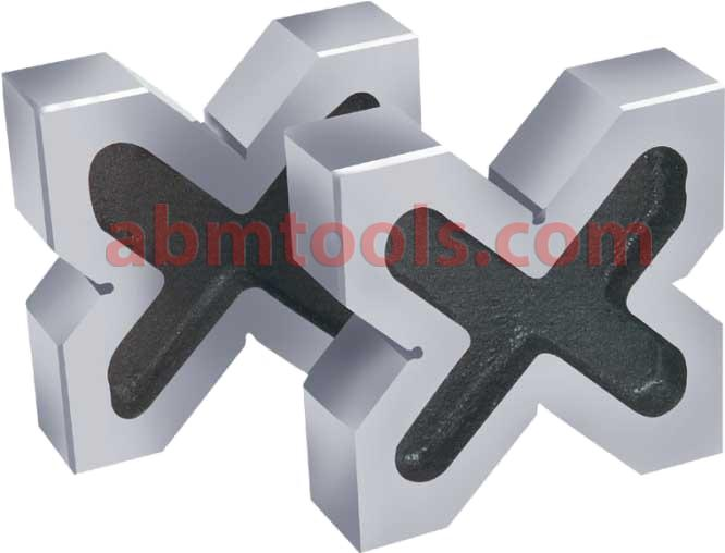 V block Quadruple - metalworking jigs typically used to hold round metal rods or pipes