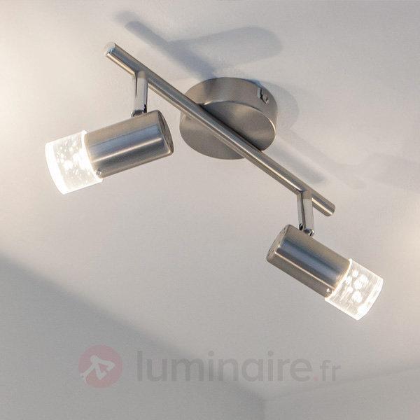 Plafonnier LED Bane à deux lampes - Plafonniers LED